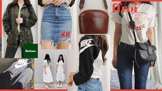 패션 하울🌹 최근에 구매한 제품 19가지 (속옷 추천,👚옷8, 가방4,나이키 맥스들👟) | WOORIN