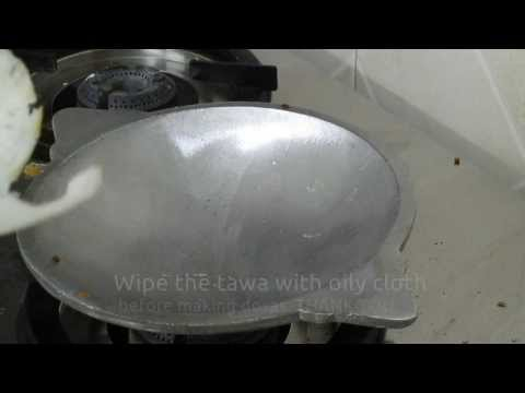 How to make dosa in new tawa Tamil - fixing appam or dosa tawa Tamil - How to