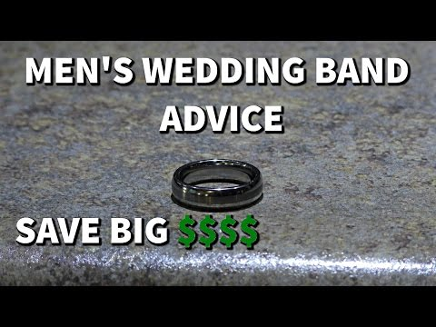 Men's Wedding Band Advice