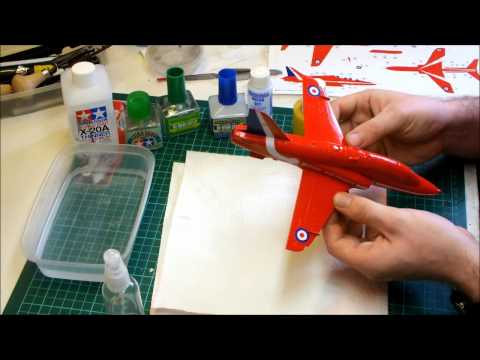 Airfix BAe Hawk T1 Trainer Red Arrows Video Build Part 7 1/48 Scale