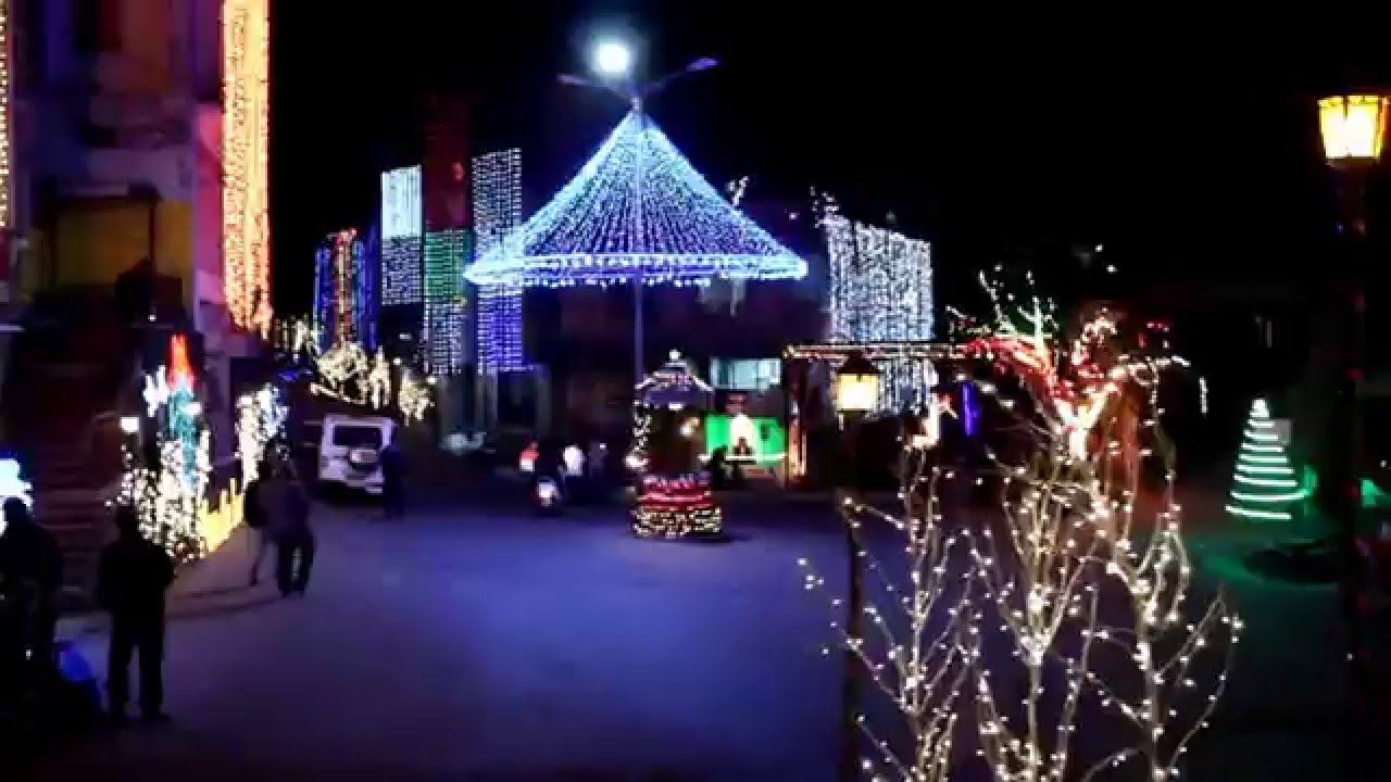 aizawl christmas decoration 2015 sikulpuikawn youtube - Christmas Decoration Video