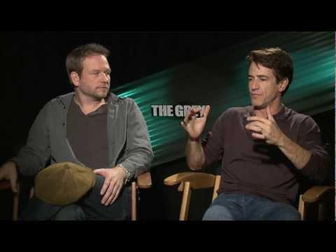 Dermot Mulroney & Dallas Roberts   The Grey
