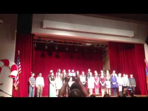Christmas Hantes at KZV Armenian School of San Francisco