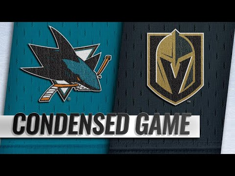 01/10/19 Condensed Game: Sharks @ Golden Knights