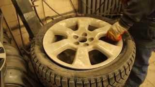 ремонт боковых порезов +7 383 383 0281(Отремонтированное колесо, остается помыть и отбалансировать http://kolesa-54.ru/servis., 2015-04-05T19:37:46.000Z)