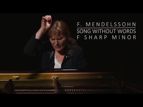 F. Mendelssohn - Romance sans parole op. 67 no. 2 en fa dièse mineur (piano)