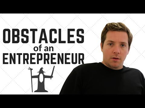 The 3 Biggest Obstacles to Entrepreneurial Success