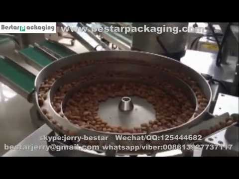 Automatic almond counting & packing machine ,tablet and pills filling & packing machine