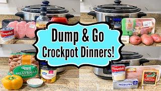 6 DUMP & GO CROCKPOT DINNE…