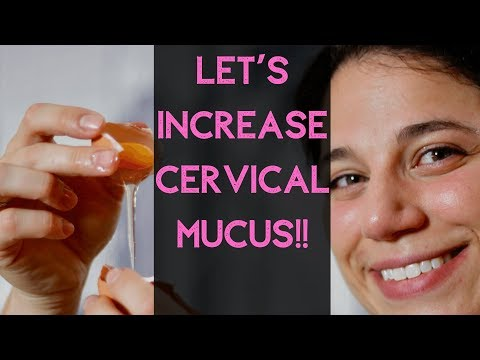 How To Increase Cervical Mucus