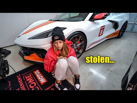 My 2020 C8 Corvette parts were STOLEN from my home...