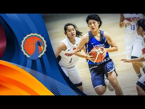 Hong Kong v Korea - Classification 5-8 - Full Game - FIBA U16 Women's Asian Championship 2017