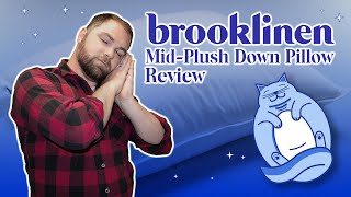 Brooklinen Down Pillow Review | Hotel quality goose down at an affordable price? (2020)