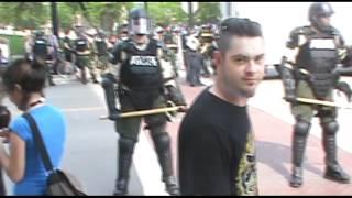 Don Repping DGC at Nato protests