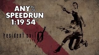Resident Evil 0 - Any% Speedrun - 1:19'54""