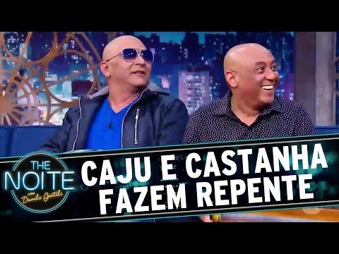 The Noite (03/10/16) - Caju e Castanha vão de o a 100 km/h a 2 segundos