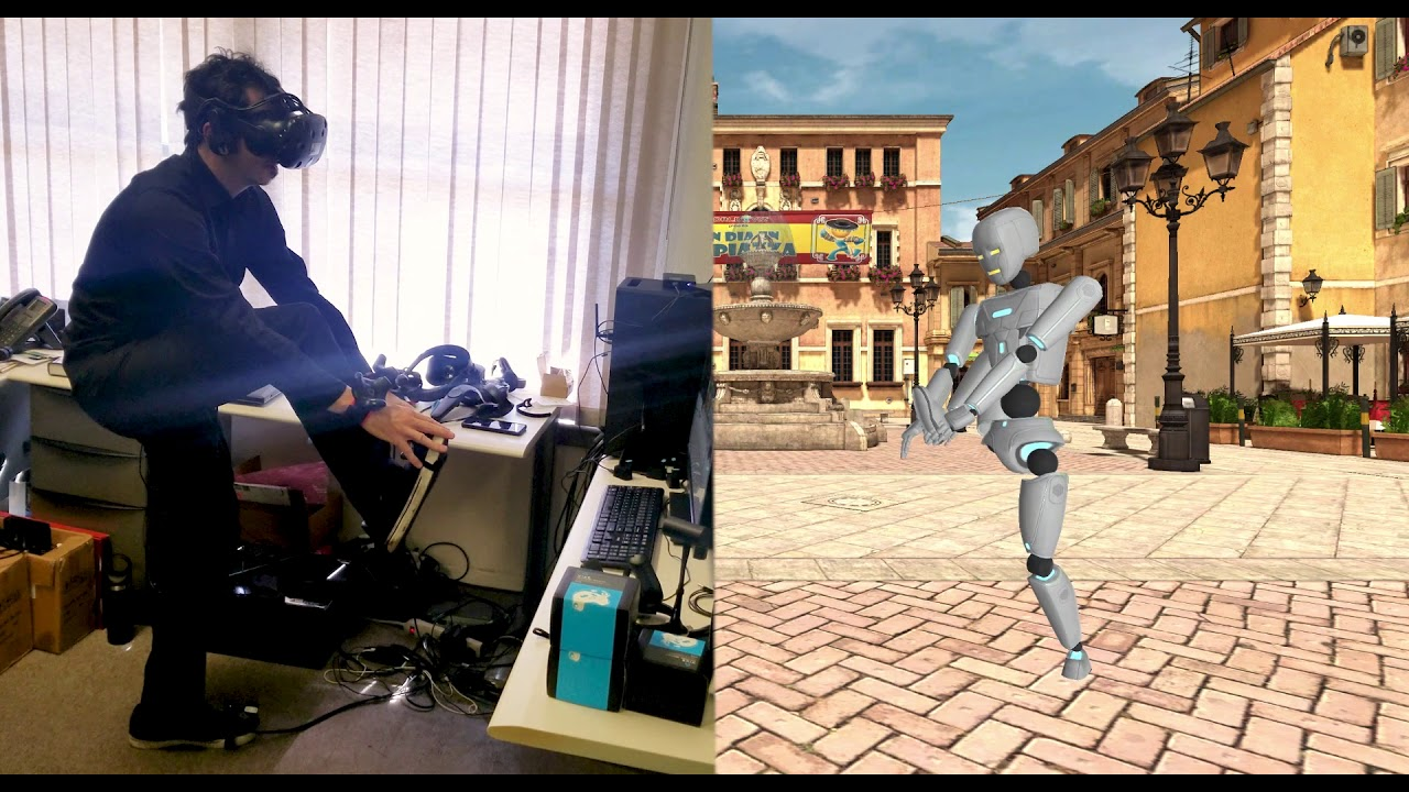 Full Body Tracking in Virtual Reality With HTC Vive Trackers