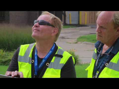 Drone Building Inspection with Thermal Imaging