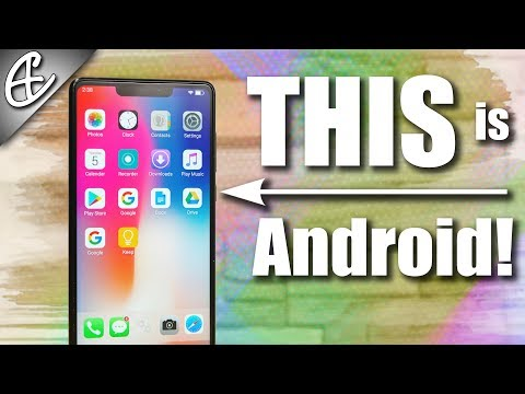 Turn Android Into iPhone X - How To | Tutorial