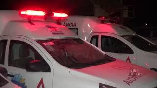 Novas ambulâncias chegam ao município de Alto Santo - Secretário de Saúde Francisco José