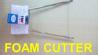 █ How to Make Foam Cutter at Home-Easy Way █