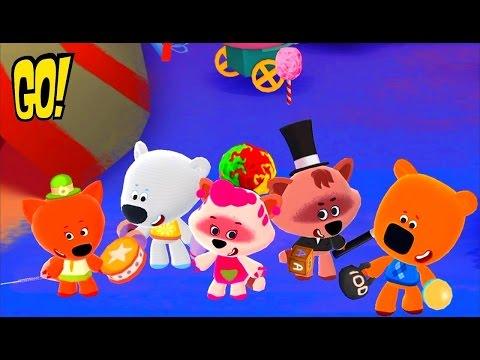 Ми ми Мишки 2 Все герои в одном Мультфильме Приключения в Цирке игровой Интерактивный МУЛЬТ