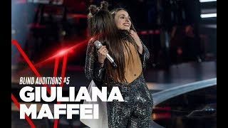 "Giuliana Maffei  ""Friends"" - Blind Auditions #5 - TVOI 2019"