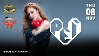 PEI PEI  - Sky Garden Bali Int. DJ Series - November 7th, 2018