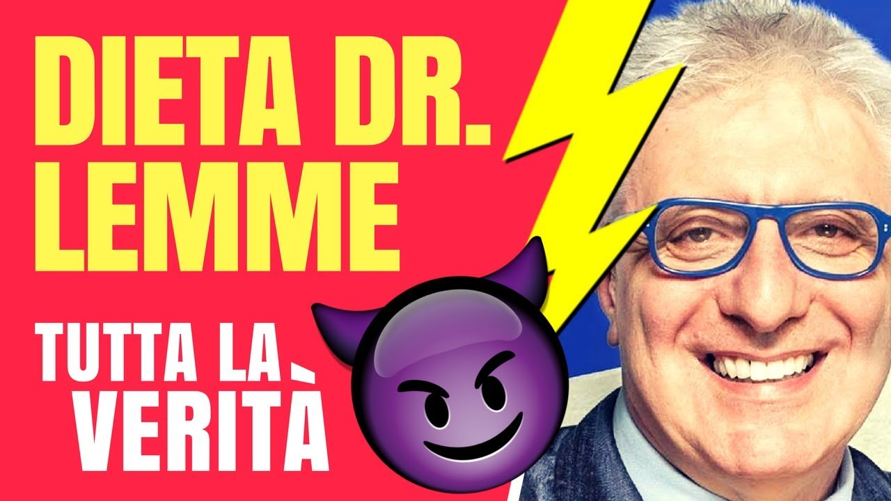 🍖🍝 Dieta Dr LEMME 🚨🚨 Tutta la VERITÀ: funziona, è sana, è dimagrante? Oppure...