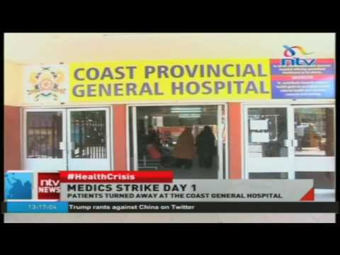 Patients turned away at the Coast General Hospital
