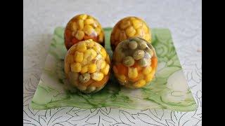 готовим яйца Фаберже ..простой рецепт...