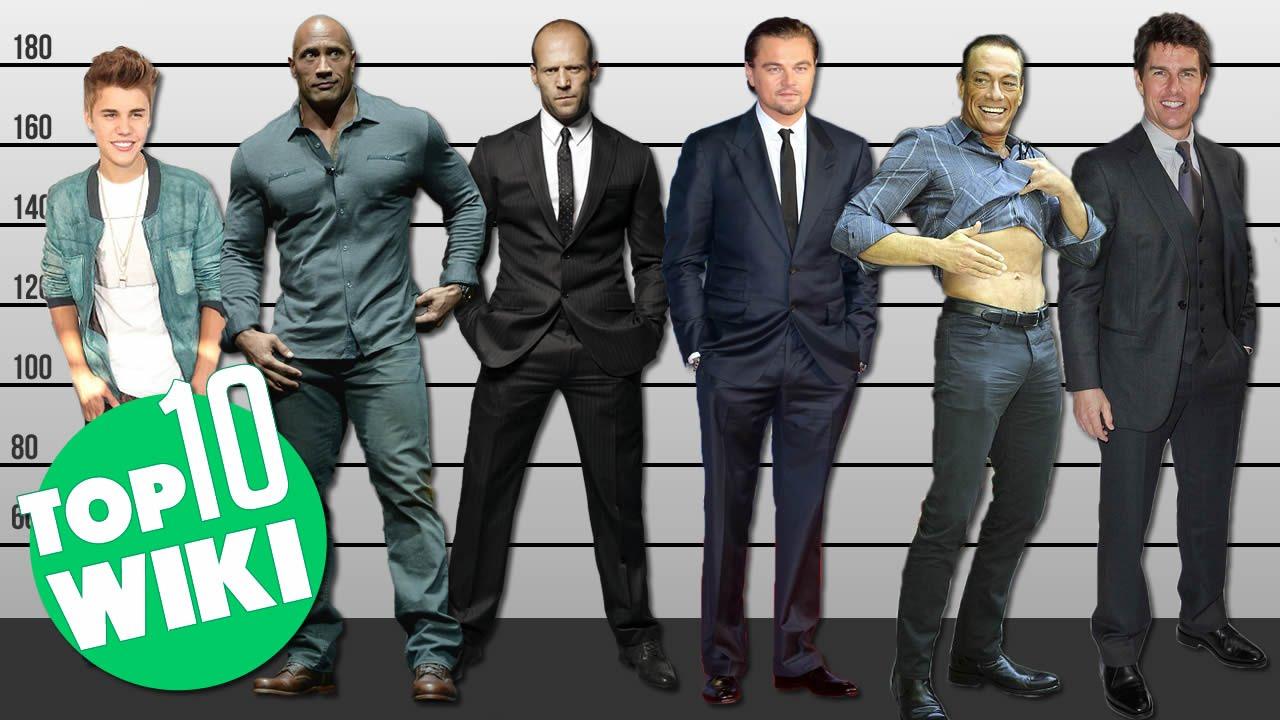 lista de peso y altura de celebridades