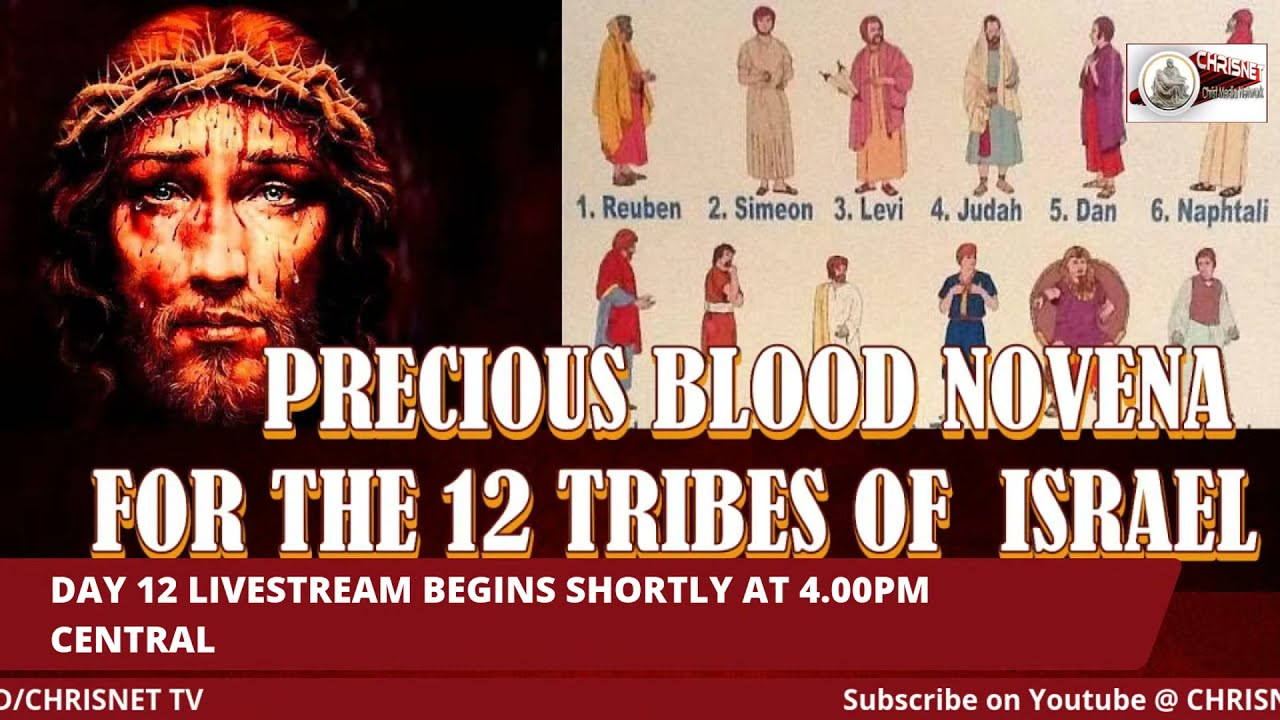 PRECIOUS BLOOD: July Novena For The 12 Tribes Of Israel- Day 12