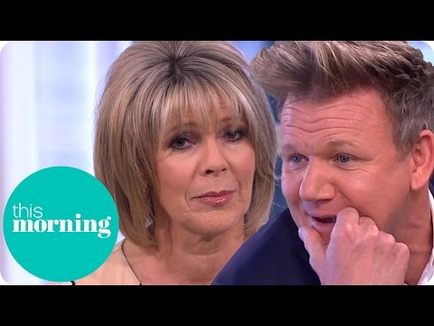 Gordon Ramsay Destroys Ruth's Meringue! | This Morning