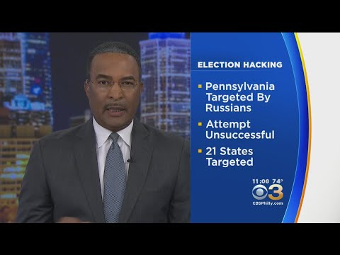 Federal Government Notifies 21 States, Including Pennsylvania, Of Election Hacking