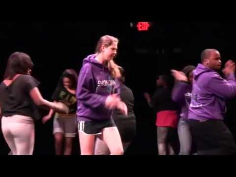 Step Dance Team at Trinity College (Hartford, Conn.)