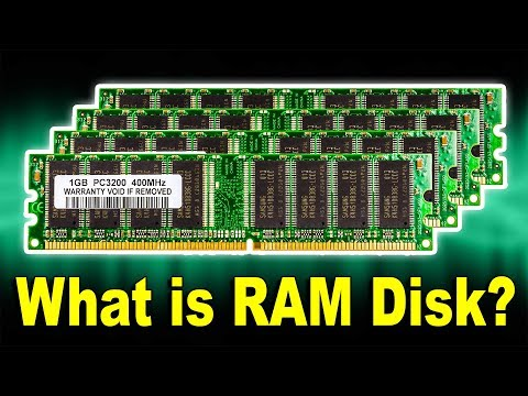 What is Computer RAM Disk Drive? How It Works? Computer Science & Hardware Technology Tutorial