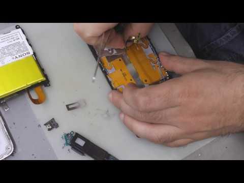 Sony Xperia Z1 Screen Change & Sony Xperia Z1 Ekran Degişimi