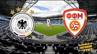 Северная Македония Германия Чемпионат мира 2022 Европа 8 й тур по футболу онлайн смотреть