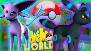BEST UMBREON & ESPEON! - PIXELMON WORLD! #13 (Minecraft Pokemon Mod)