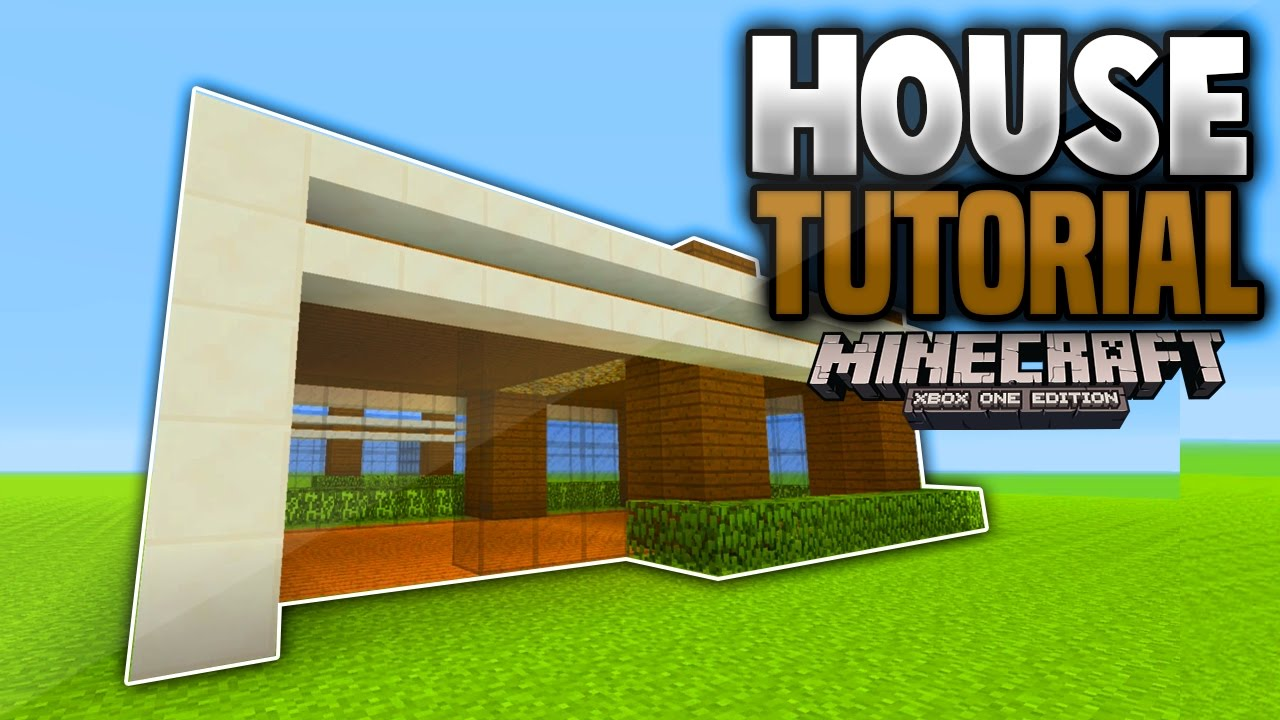 Minecraft 2017 Modern House Tutorial PCXboxPlaystationPEWIIU