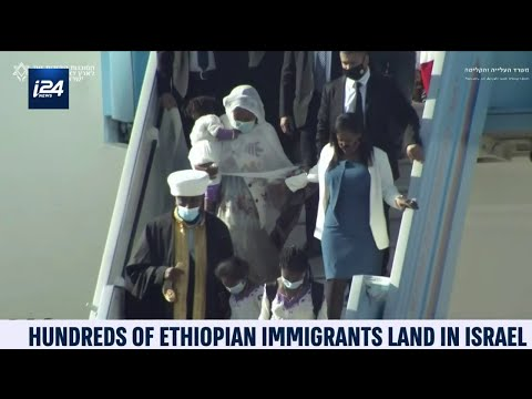Ethiopian Jews Migrating To Israel Accompanied By 1st Ethiopian-Israeli Minister