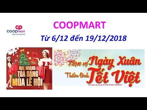 Khuyến Mãi - Siêu Thị Coop Mart - Từ 06/12 đến 19/12/2018