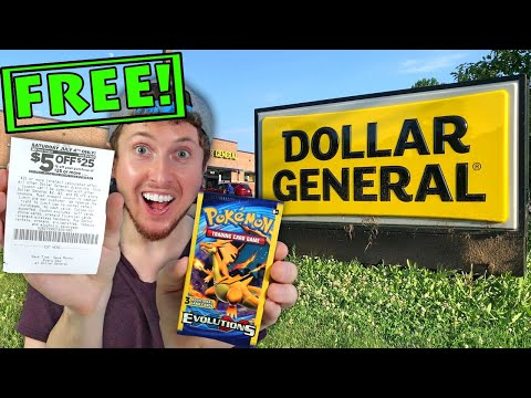 How To Get FREE POKEMON CARDS At Dollar General! [Opening Exclusive Dollar Store Tins & Packs]