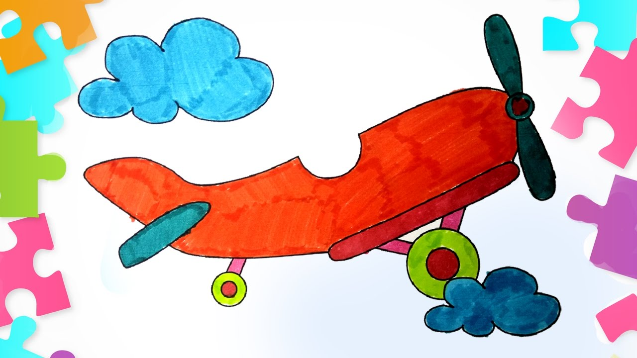 coloring aeroplane how to color an aeroplane airplane coloring