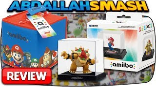 HORI Amiibo Collect and Display Case & Amiibo 8-Figure Travel Case Review + Giveaway!