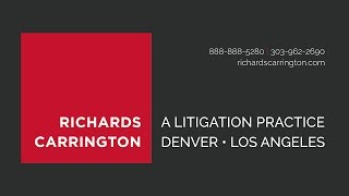 The Advantage of a Boutique Law Firm | Richards Carrington