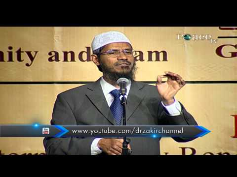 SIMILARITIES BETWEEN CHRISTIANITY AND ISLAM | LECTURE | DR ZAKIR NAIK