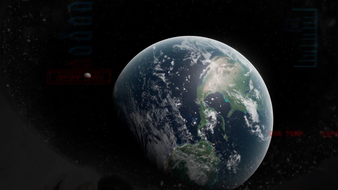 Unreal Engine 4 Space scene [EP 01] - YouTube
