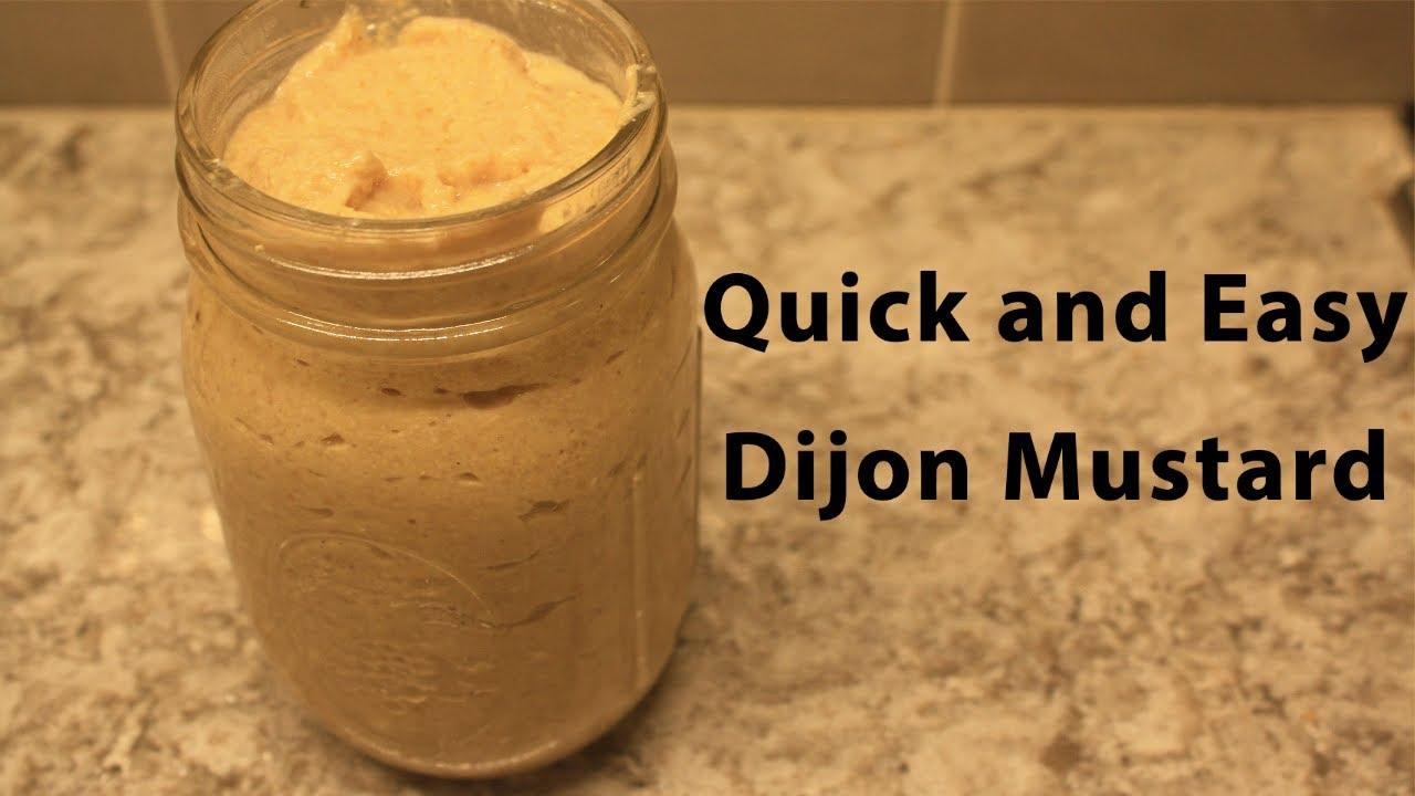 Easy Homemade Dijon Mustard - YouTube